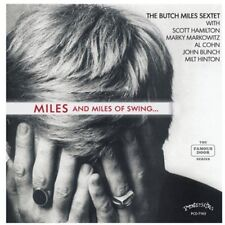 Butch Sextet Miles - Miles and Miles of Swing [New CD]