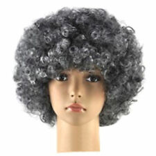 US Fashion Women Men Hair Short Curly Afro Clown Party Cosplay Full Wigs Costume
