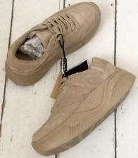 Zara Sand Split Suede Leather Platform Sneakers Trainers UK8 EU41 US10 #001