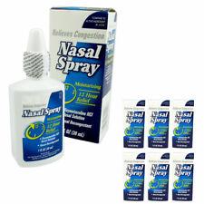 6 Hydratante Nasal Spray Facilité 12 Heure Relief Allergie Sinus Maximum Fort