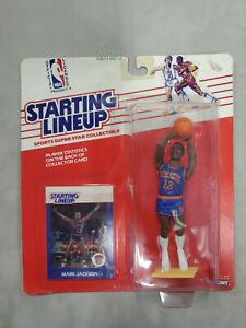 1988 Starting Lineup Topps NBA Superstar Mark Jackson - New York Knicks