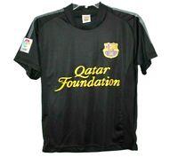 Lionel Messi 10 FCB Qatar Foundation Authentic LFP Soccer Jersey Men's Small F/S