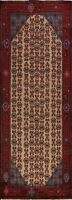 Geometric Semi Antique Koliaei Handmade Runner Rug Hallway Oriental 3'x9' Carpet