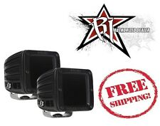 Rigid Industries Set of 2 D2 Series Infared LED Drive Pattern Light