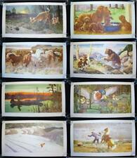 1947-48 Chrysler Sales Division 8 Prints American Leading Artists NM Condition