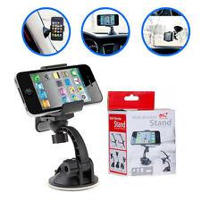 SUPPORTO UNIVERSALE AUTO PINZA CON VENTOSA X SMARTPHONE E IPHONE 5 5C 5S SAMSUNG