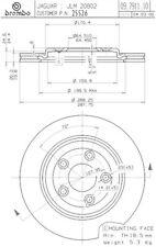 Brembo 25526 Disc Brake Rotor