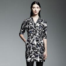 NWT Catherine Malandrino DesigNation Dress Charmeuse Surplice Sz 0 - Retail $68