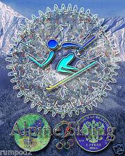 2014 Olympics/Olympic Poster/Winter Olympic Games/sochi.ru/Alpine Skiing/16x20