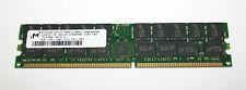 4GB 2x2GB SERVER RAM Micron DDR 400MHz PC3200R-30331-Z 184p CL3 128x4  ECC REG