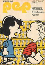 PEP 1971  nr. 33  - ERIC & ROGER DE VLAEMINCK / PEANUTS (COVER) / COMICS