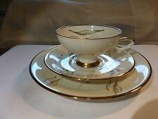 GERMAN Antique Rheinpfalz Hartporzellan - Trio Set - Tea Cup - Saucer & Plate
