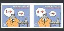 Belgium 2008 Red Cross/Medical/Health/Welfare/Animation/Blood s/a bklt pr n34046