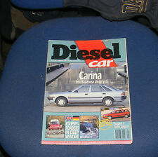 DIESEL CAR ISSUE 28 JANUARY 1991 - LANDROVER DEFENDER/PEUGEOT 405 GRDT ESTATE