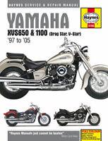 Yamaha XVS650 XVS1100 Drag Star V-Star Haynes Manual