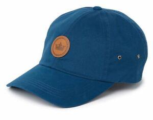 NWT PETER MILLAR FELT TAN PATCH BASEBALL CAP - NAVY - O/S (MSRP $29.50)