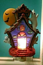 Halloween Haunted House Ghosts Night Light -Midwest.... 7 inches.- RARE