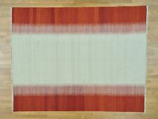 """8'x10'2"""" Durie Kilim Reversible Flat Weave Hand Woven Oriental Rug R29992"""