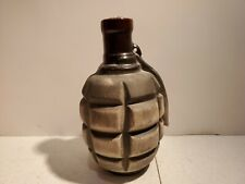 Ceramic Flask for cognac & other spirits in the form of a large grenade
