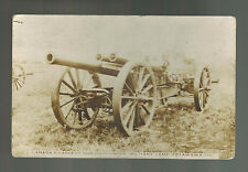 1916 Montreal Canada postcard Cover to Brantford 60 Pounder artillery Gun Army