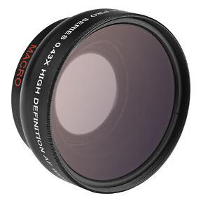 Opteka 0.43x High Definition Wide Angle Macro Lens for Sony E 35mm f1.8 OSS Lens