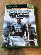 Blitz: The League (Microsoft Xbox, 2005) Cib Game H3