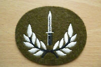British Army No.2 Platoon Sergeants BCA SAA Dress Patch (Org, New,apx.6.6x5.7cm)
