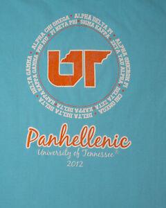 Sorority Panhellenic T-Shirt | Large - University of Tennessee