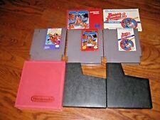 Lot of 3 Video Games Vintage Nintendo NES ] Mickey Mousecapade + 2 more
