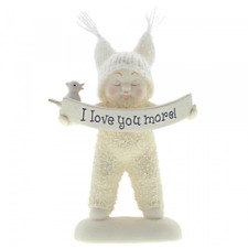 Snowbabies I Love You More Figurine 6001875 - Brand New & Boxed