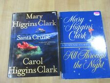 2 Christmas Novels Mary & Carol Higgins Clark with Alvirah & Willy  HC  DJ