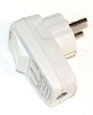 1 Stück Schutzkontakt- Stecker Schukostecker mit Schalter Schuko