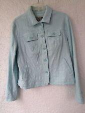 Women's Croft & Barrow Stretch Turquoise Jacket Medium