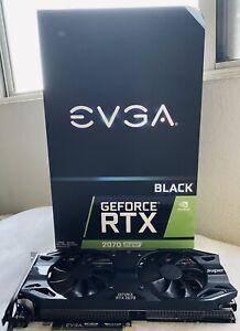 BOXED EVGA RTX 2070 SUPER BLACK GAMING Video Card, 08G-P4-3071-RX, 8GB GDDR6