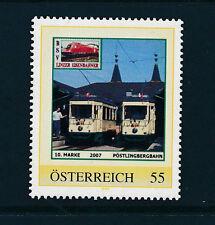 10.person.Marke des  BSV-Linzer Eisenbahn-Verein, Pöstlingbergbahn, Zug, 1/5/15