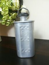 More details for vintage aluminium regaid water bottle miners army flask c1940's