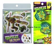 Teenage Mutant Ninja Turtles Bath Tub Treads & 2 Pc. Toothbrush Covers