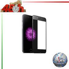 PELLICOLA VETRO TEMPERATO 3D CURVO PROTEZIONE TOUCH DISPLAY IPHONE 6 6S PLUS 7