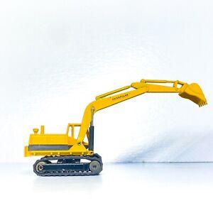NZG 🚧#143, Caterpillar 225 Spoon Excavator 1/87 Scale Deep Diecast