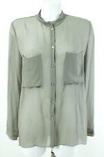 SCHUMACHER Bluse NEU Gr.42 / XL 100% Seide Chiffonbluse Blouse Seidenbluse Shirt