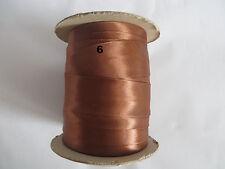 4m Satin Schrägband Atlas 30mm ,gefalzt (1)
