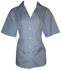 Classic Collar Casual Check Tops & Shirts Plus Size for Women