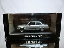 MINICHAMPS BMW 323i SALOON 1975-1983 - E21 SILVER 1:43 - GOOD CONDITION IN BOX