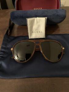 Gucci Aviator Mens Sunglasses GG0119S