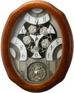 Rhythm Clocks Joyful Glory Magic Motion Clock (4MH897WU06)