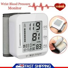 Automatic Wrist Blood Pressure Monitor Digital Heart Beat Tester Pulse Machine