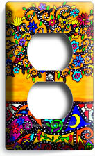 COLORFUL MEXICAN TREE OF LIFE FOLK ART OUTLET WALLPLATE ROOM HOUSE KITCHEN DECOR