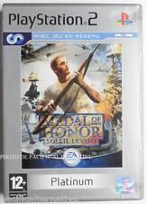 COMPLET jeu MEDAL OF HONOR SOLEIL LEVANT pour playstation 2 PS2 francais fps