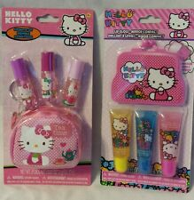 Hello Kitty Cosmetic Set and Lip Gloss Set