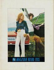 Mazda 616 1971-73 UK Market Foldout Sales Brochure Saloon Coupe